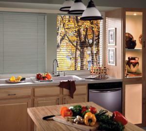 billede persienner køkken